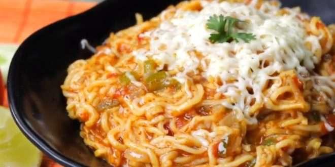 Image result for डिफरेंट स्टाइल में बनायें पाव भाजी मैगी
